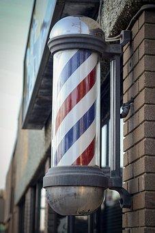 Barber, Barbershop, Retro, Shop, Symbol, Sign, Pole