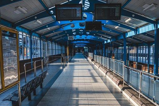 Bus Station, Building, Transport