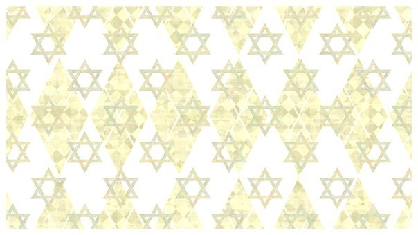 Star Of David, Magen David, Jewish, Judaism, Vintage