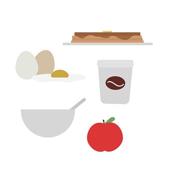 Breakfast, Eggs, Egg, Pancakes, Coffee, Cereal, Bowl