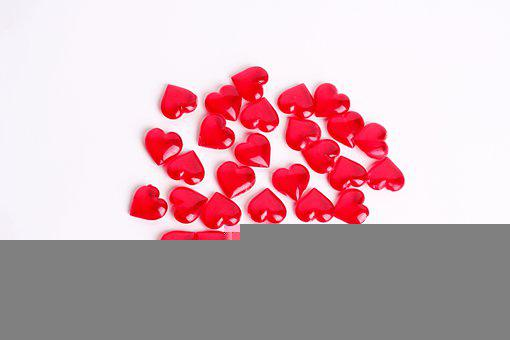 Valentine's Day, Heart, Dekoherz, Red, Deco, Many