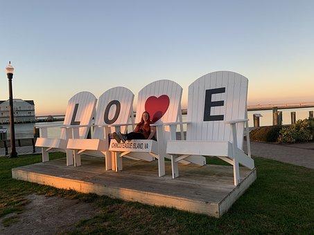 Love, Sunset, Couple, Romantic