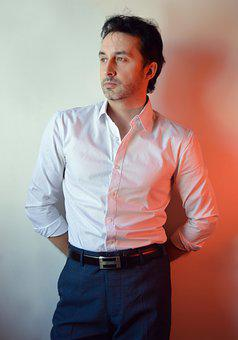 Man, Portrait Of A Man, Portrait, Model, Posing