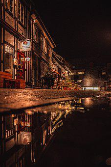 Night, Spiegel, Colours, Colorful, Mirroring, Nature