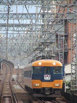 Japan, Train, Kintetsu, Transportation System, Express