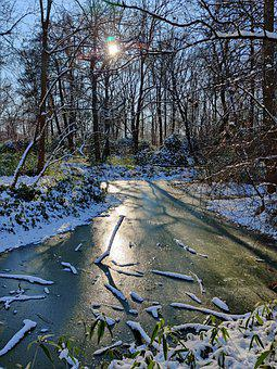 Winter, Snow, Landscape, Cold, Nature, Frost, Ice