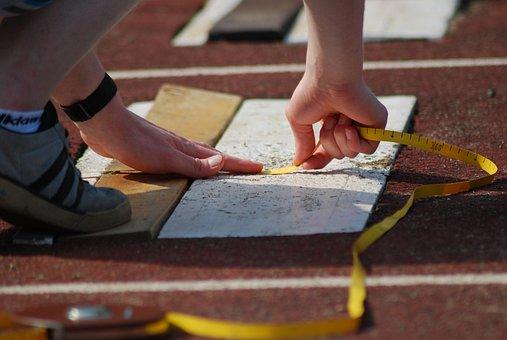Measure, Jump, Long Jump, Sport, Athletics, Athelete