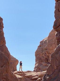 Arches, Rocks, Desert, Erosion, Stone, Outdoors, Rocky