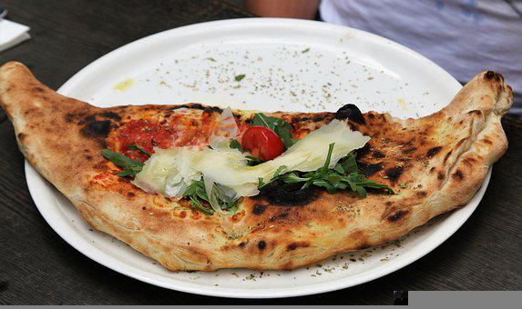 Pizza, Dough, Cheese, Tomatoes, Delicious, Italian, Eat