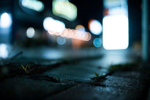 Sad, Ground, Lights