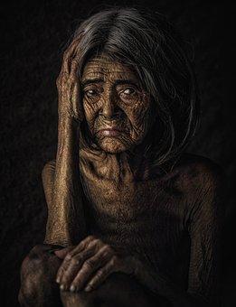Portrait, Women, Sadness