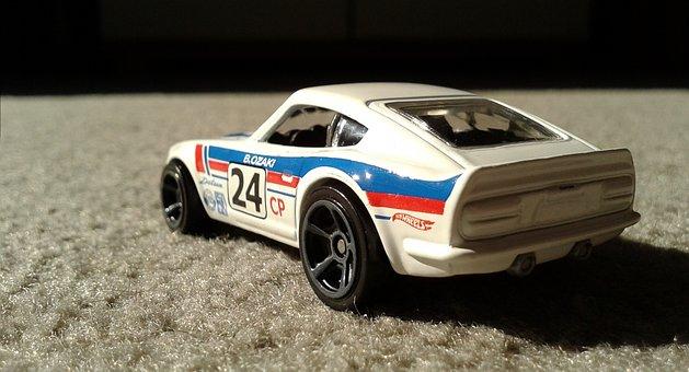 Datsun, Hot Wheels, Diecast, Fairlady, Nissan, 240z