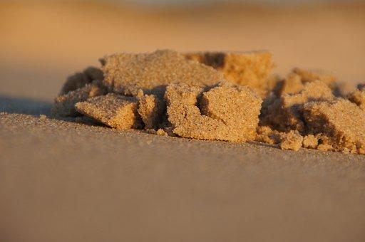 Beach, Sand, Biscarrosse, Atlantic, Dune, Ocean, Sea