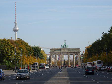 Brandenburg Gate, Berlin, Autumn