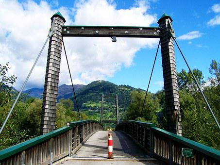 Bridge Over The Drava, Shingled Bridge, Buildup
