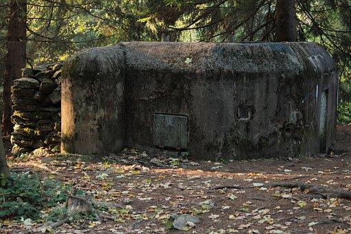 šumava, Bunker, Nature, The Fortifications