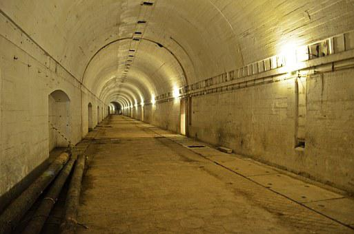 Tunnel, Building, Architecture, Bunker, Monument