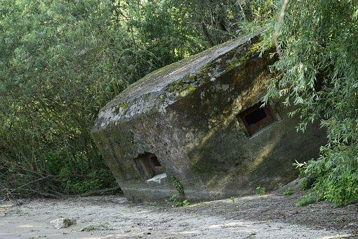 Bunker, Beach, Verdedigingslienie