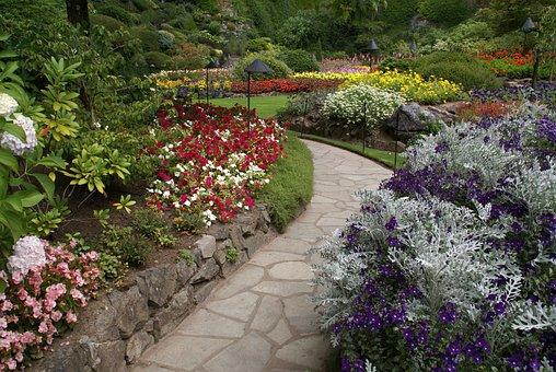 Butchart, Botanical Garden, Butchart Gardens, Garden