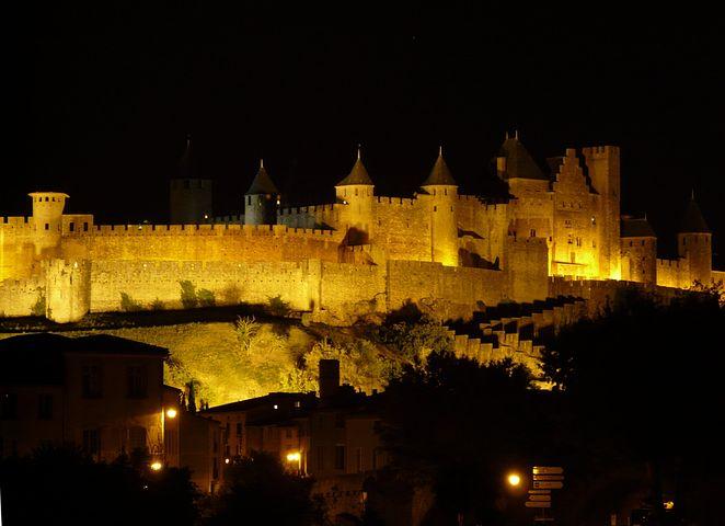 Castle, Building, Architecture, Carcassonne