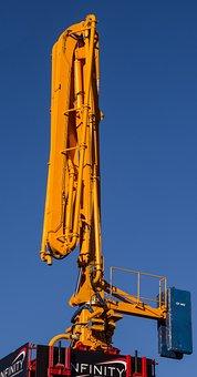 Concrete Pump, Pump, Construction, Cement, Building