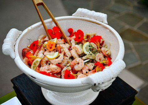 Shrimp, Dish, Salad, Shrimp Salad, Food, Seafood, Meal