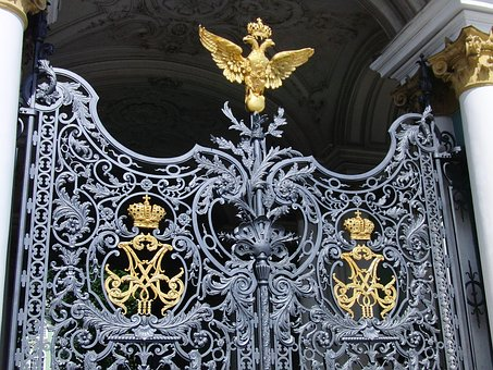 Winter Palace, St Petersburg Russia, Museum, Gate