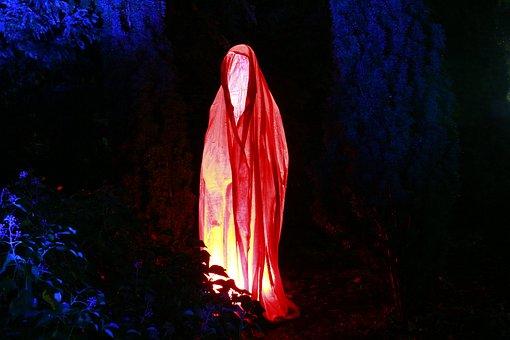 Ghost, Fig, Mystical, Spirit, Light Effect, Illuminated