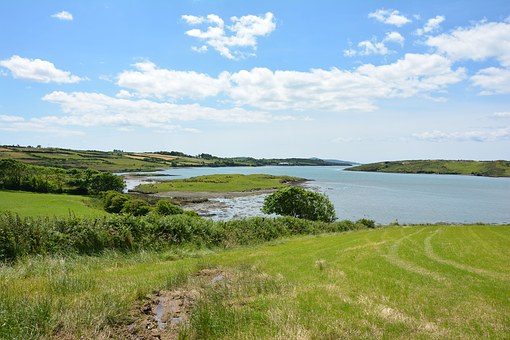 Ireland, Innish Beg, Nature, Inlet, Sky, County Cork