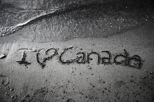 Canada, Sand, Beach, Landscape, Tourism, Waves