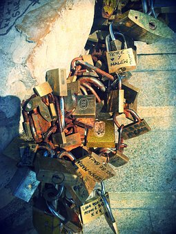 Lock, Benidorm, Love, Wedding, Locks, Key
