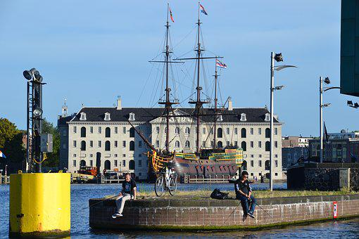 Maritime Museum Amsterdam, Amsterdam, Amsterdam Canals