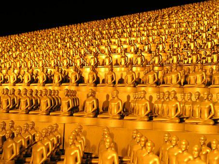 Dhammakaya Pagoda, More Than, Million, Budhas, Gold