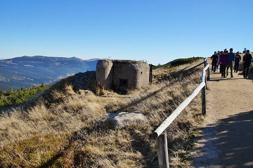 Mountains, Path, Comb, The Giant Mountains, Bunker