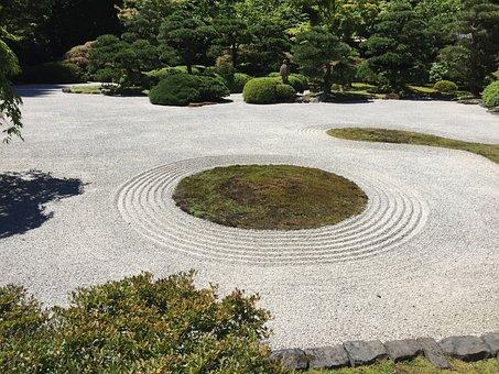 Portland, Japanese, Garden, Oregon, Northwest