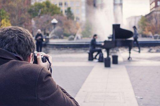 Photographer, Photography, Artist, Piano Player, Camera