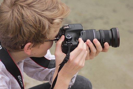 Photographer, Camera, Human, Recordings, Tele