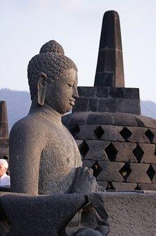 Budha, Stupa, Borobudur, Java Temple, Culture