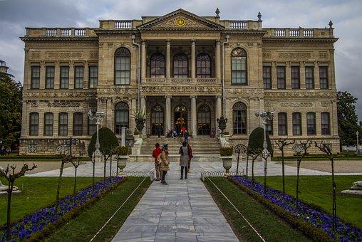 Turkey, Istanbul, Dolmabahce, Ottoman, Work, On, Palace
