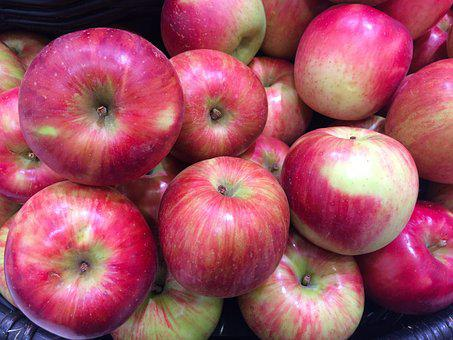 Apple, Red, Young And Vivacious, Vivid, Vegetables