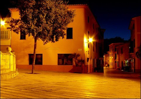 Village, Spain, Building, Homes, Home, Space