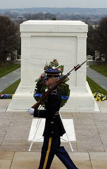 Washington Dc, Arlington National Cemetery, Soldier