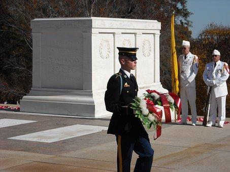 Tomb, Guard, Arlington National Cemetery, Washington Dc
