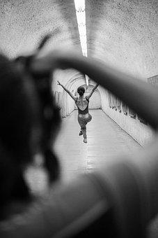 Ballet, Street, Dance, Dancer, Beautiful, Women, City