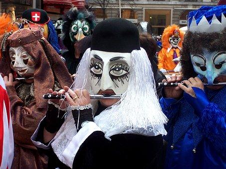 Basel, Fasnacht, Carnival, Tradition, Switzerland, Mask