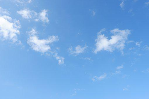 Blue Sky, Sky, Cloud, Background
