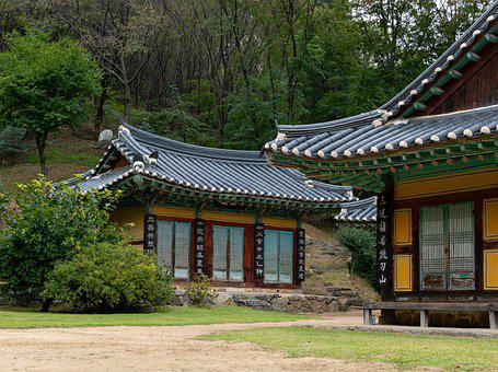 Hanok, Houses, Village, Traditional Houses, Traditional