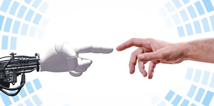 Robot, Hand, Human, Handshake, Robotic, Partner