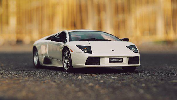 Diecast, Model, Toys, Car, Lamborghini, Vehicle