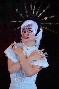 Woman, Costume, La Calavera Catrina, Calavera
